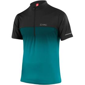 Löffler Flow 3.0 Half-Zip Bike Shirt Men, pine